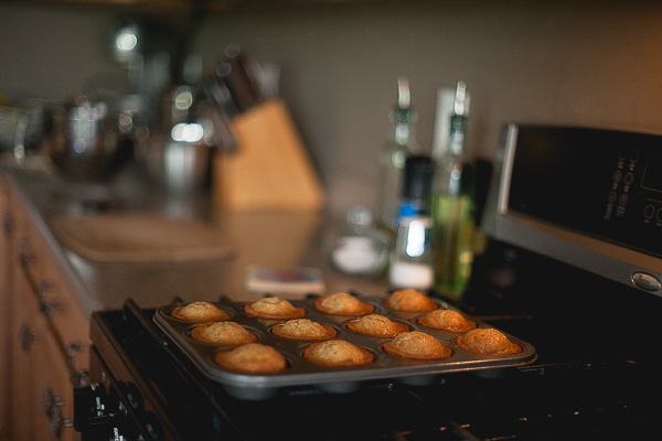 Free Stock Photos for Blogs - Banana Muffins in a Pan