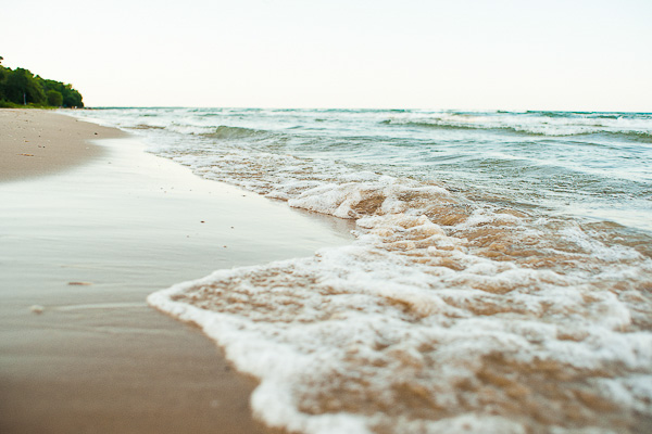 Free Stock Photos for Blogs - Waves on the Beach 1