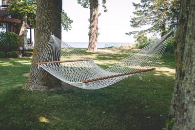 Free Stock Photos for Blogs - Backyard Hammock 1