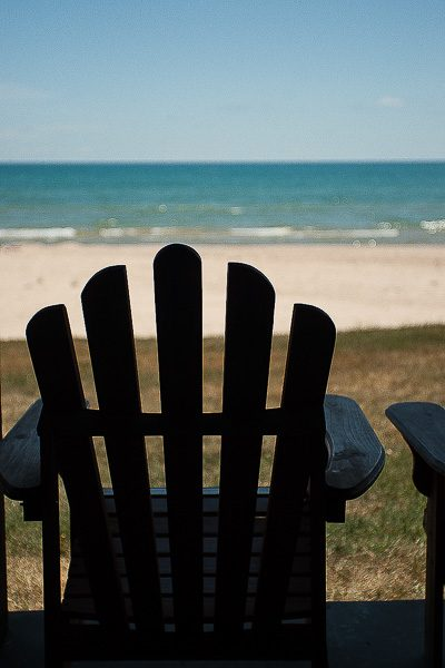 Free Stock Photos for Blogs - Adirondack Chair at the Beach