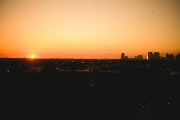 Free Stock Photos for Blogs - City at Sunset 1