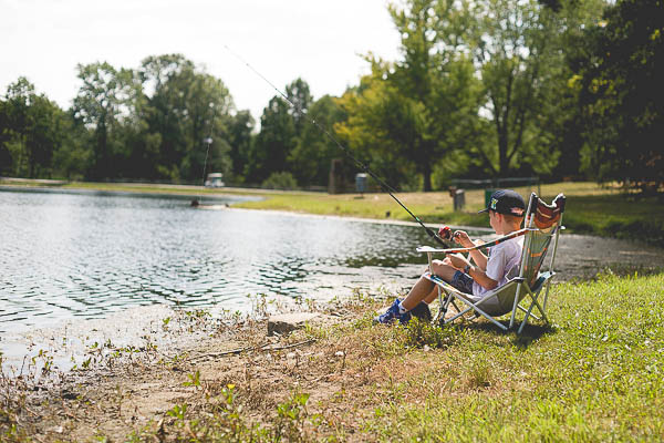 Free Stock Photos for Blogs - Boy Fishing 1