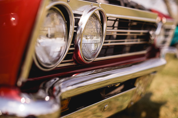 Free Stock Photos for Blogs - Headlights of a Vintage Car 1