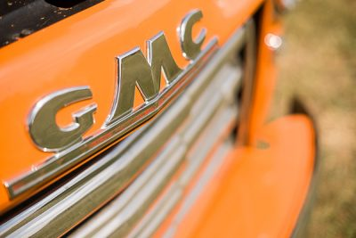 Free Stock Photos for Blogs - GMC Grill Vintage Car 1