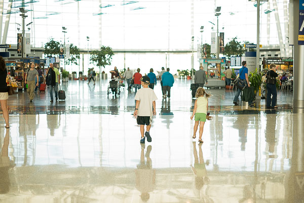 Free Stock Photos for Blogs - Kids at the Airport 2