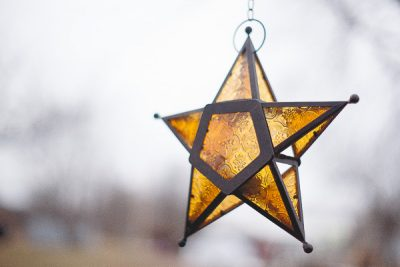 Free Stock Photos for Blogs - Star Hanging Ornament 1