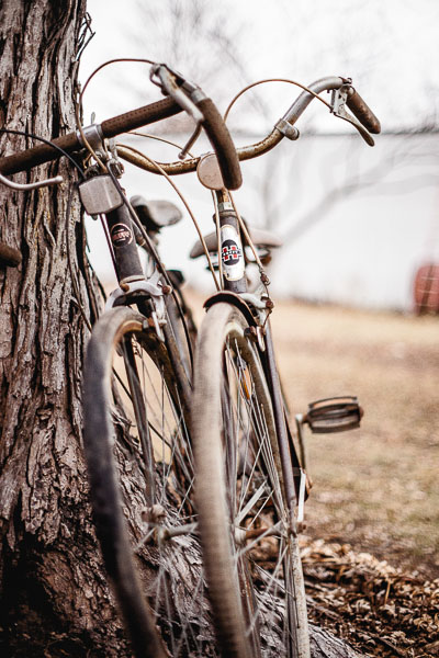 Free Stock Photos for Blogs - Vintage Huffy Bikes 3