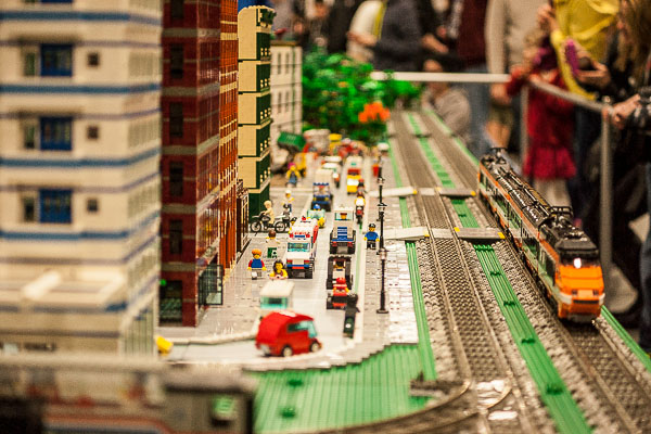 Free Stock Photos for Blogs - City Made of Legos 1