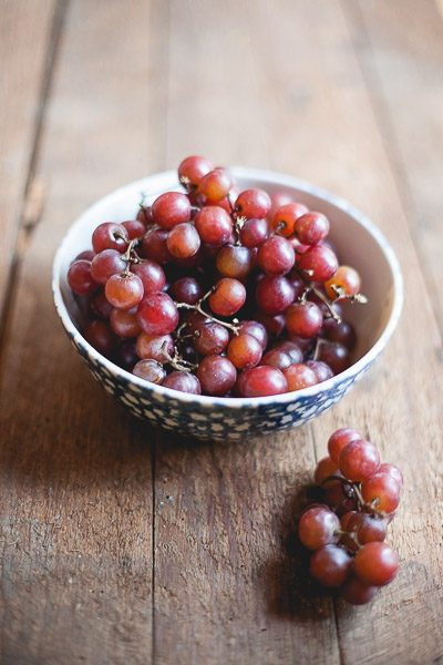 Free Stock Photos for Blogs - Red Grapes in a Bowl 5