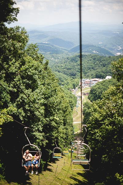 Free Stock Photos for Blogs - Mountain Ski Resort Lift in Summer 1