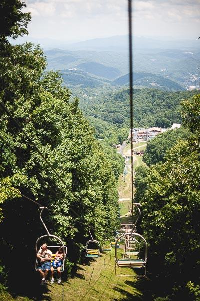 Free Stock Photos for Blogs - Mountain Ski Resort Lift in Summer 1