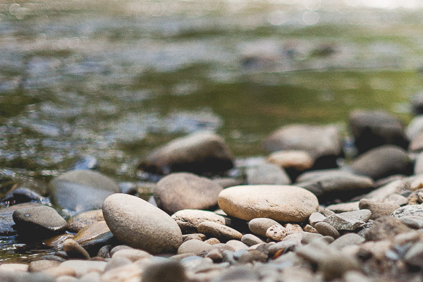 Free Stock Photos for Blogs - River Rocks 1