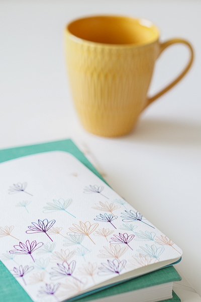 Free Stock Photos for Blogs - Teal and Yellow Office Desk 26