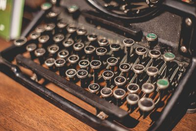 Free Stock Photos for Blogs - Vintage Typewriter