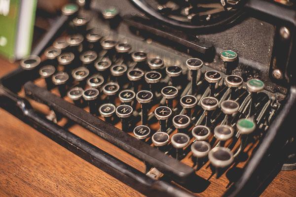 Free Stock Photos for Blogs - Vintage Typewriter