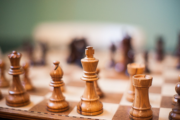 Free Stock Photos for Blogs - Wooden Chess Board 1