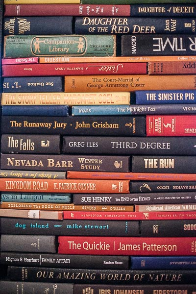 Free Stock Photos for Blogs - Stacks of Books 1