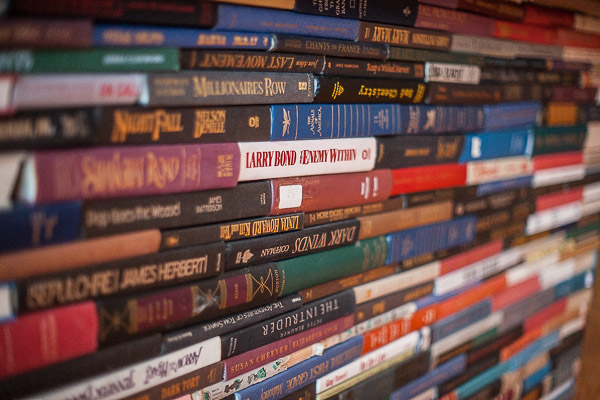 Free Stock Photos for Blogs - Stacks of Books 2