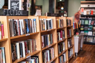 Free Stock Photos for Blogs - Bookstore Bookshelves 1