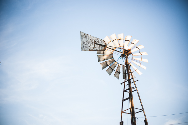 Free Stock Photos for Blogs - Windmill on the Farm 1