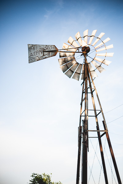 Free Stock Photos for Blogs - Windmill on the Farm 2