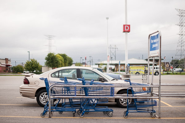 Free Stock Photos for Blogs - Shopping Cart Return at the Grocery 1