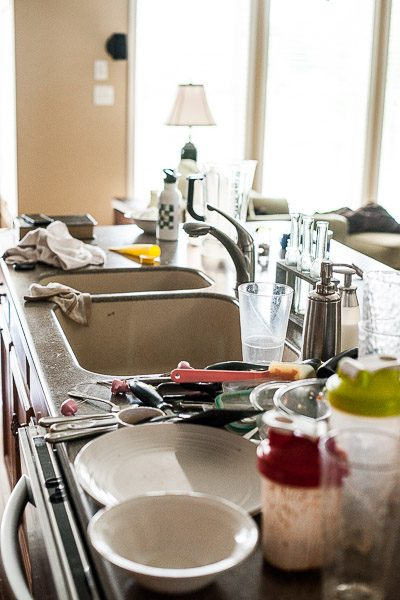 Free Stock Photos for Blogs - Messy Kitchen Counter 2
