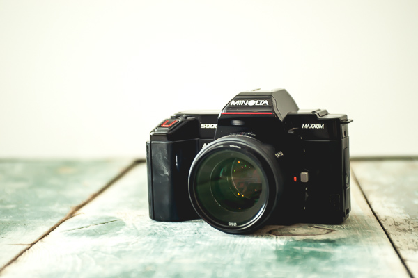 Free Stock Photos for Blogs - Vintage Camera 1