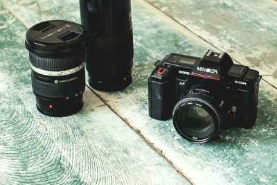 Free Stock Photos for Blogs - Camera and Lenses 1