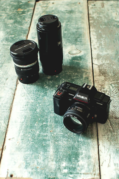 Free Stock Photos for Blogs - Camera and Lenses 2