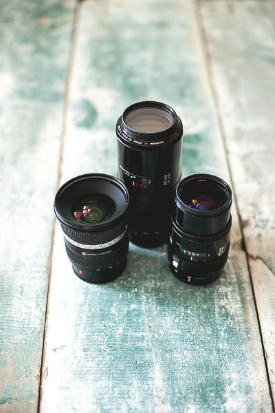 Free Stock Photos for Blogs - Camera Lenses 1