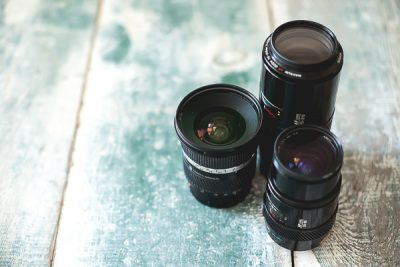 Free Stock Photos for Blogs - Camera Lenses 2