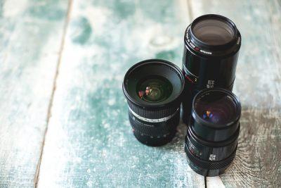 Free Stock Photos for Blogs - Camera Lenses 2