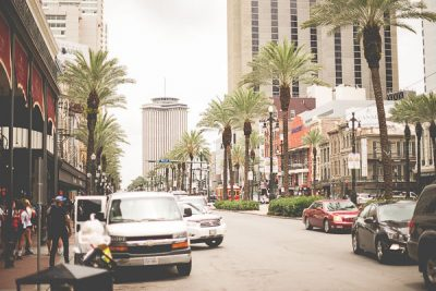 Free Stock Photos for Blogs - New Orleans Canal Street