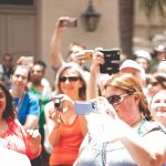 Free Stock Photos for Blogs - Crowd of People with Cell Phones 1