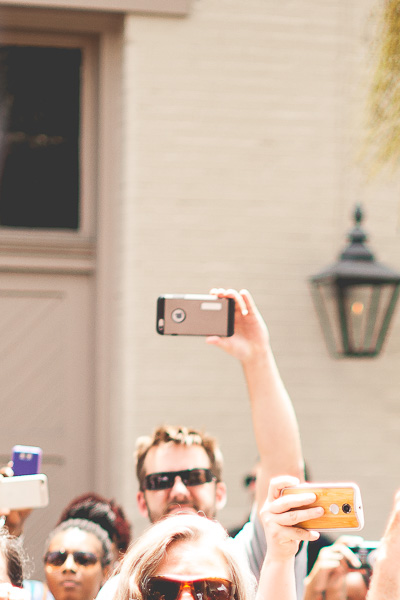 Free Stock Photos for Blogs - Crowd of People with Cell Phones 2