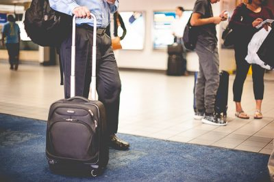 Free Stock Photos for Blogs - People Waiting at the Airport 1