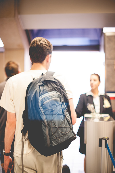 Free Stock Photos for Blogs - People Boarding an Airplane 2