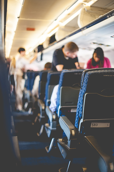 Free Stock Photos for Blogs - People Boarding an Airplane 4