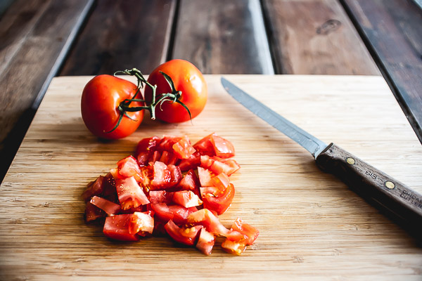 Free Stock Photos for Blogs - Fresh Chopped Tomatoes 1