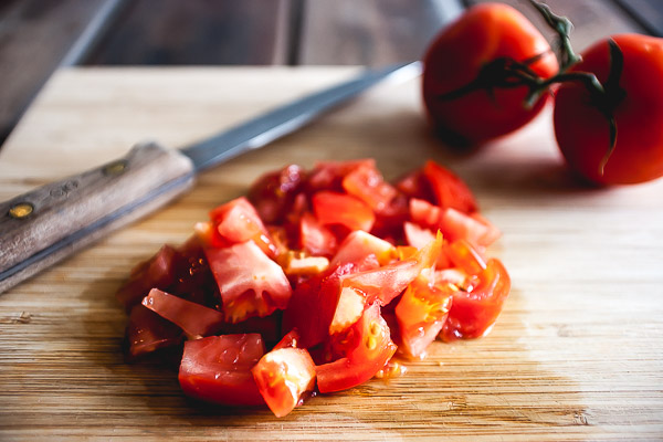 Free Stock Photos for Blogs - Fresh Chopped Tomatoes 2