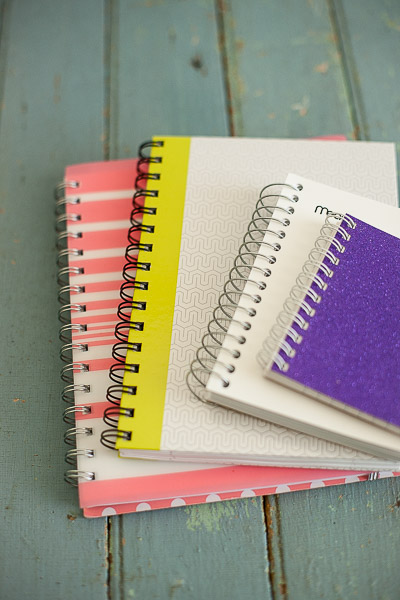 Free Stock Photos for Blogs - Spiral Notebooks 1