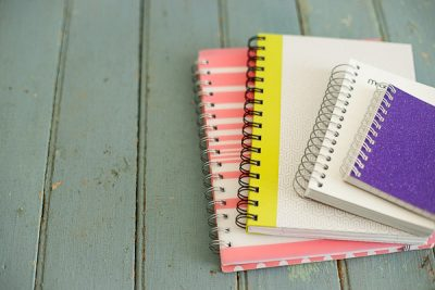 Free Stock Photos for Blogs - Spiral Notebooks 2