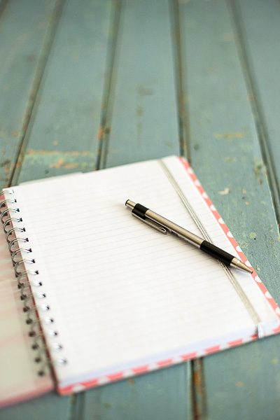 Free Stock Photos for Blogs - Notebook and Pen 2