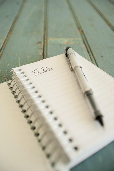 Free Stock Photos for Blogs - Notebook with To Do List 2