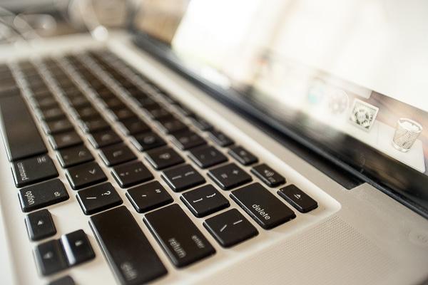Free Stock Photos for Blogs - Laptop Keyboard 1