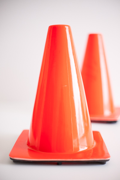 Free Stock Photos for Blogs - Traffic Safety Cones 1