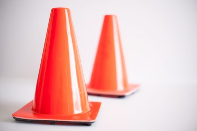 Free Stock Photos for Blogs - Traffic Safety Cones 2