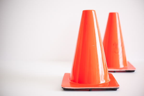 Free Stock Photos for Blogs - Traffic Safety Cones 3