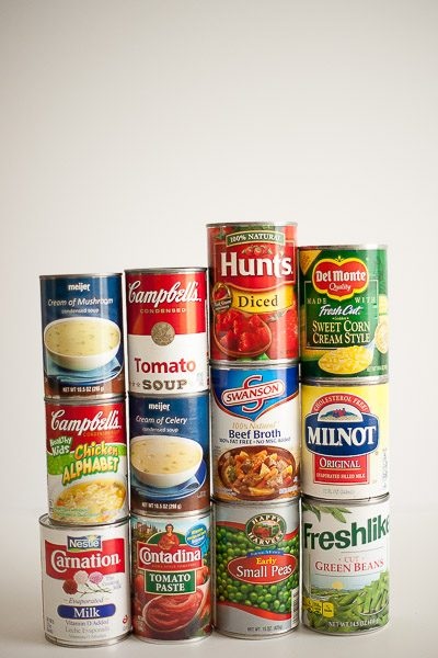 Free Stock Photos for Blogs - Canned Food 2